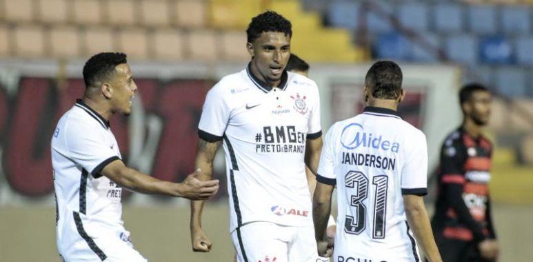 Ederson - Oeste x Corinthians - Gol
