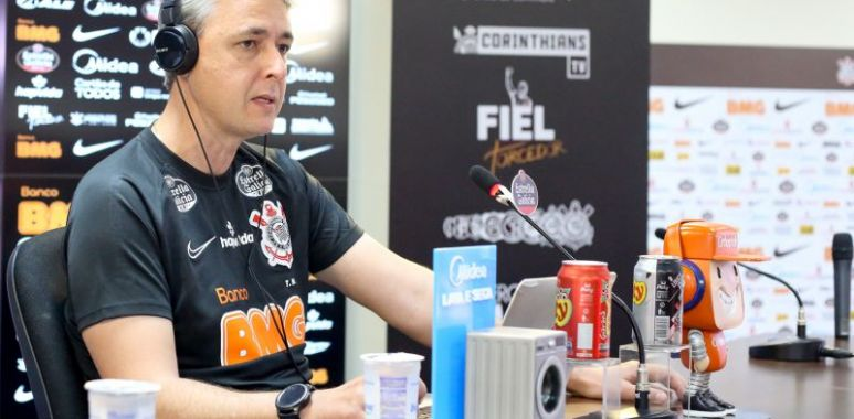 Tiago Nunes - Entrevista Coletiva