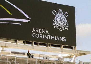 Arena Corinthians - Telão