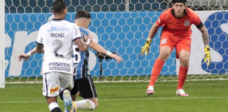 Cassio - Gremio 0 x 0 Corinthians