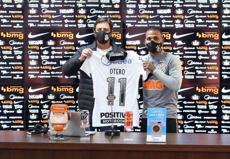 Otero - Apresentação do Corinthians