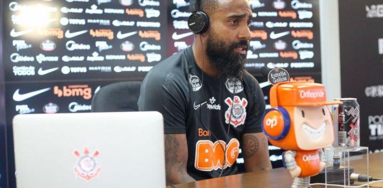 Dyego Coelho - Entrevista Coletiva no Corinthians
