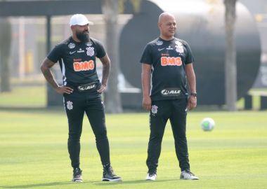 Dyego Coelho - Treino do Corinthians - Mauro Silva