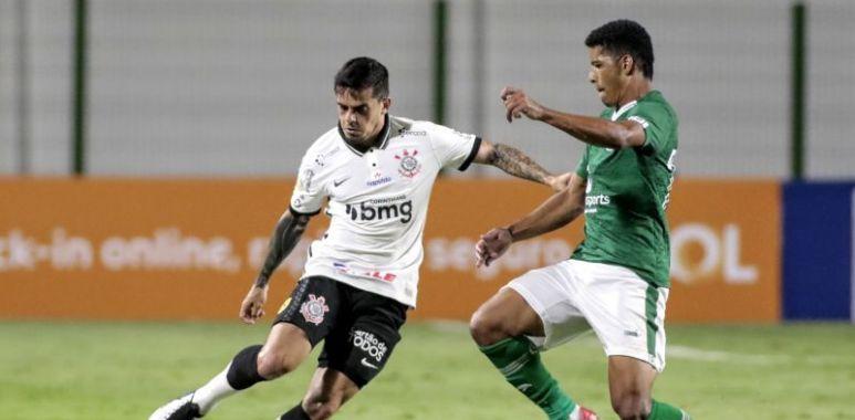 Fagner - Corinthians x Goiás