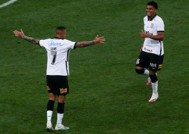 Luan - Ederson - Corinthians