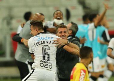 Lucas Piton - Mancini - Gol do Corinthians