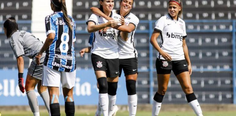 Corinthians x Grêmio - Brasileirão Feminino
