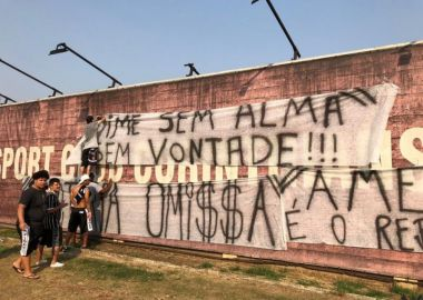 Protesto Corinthians