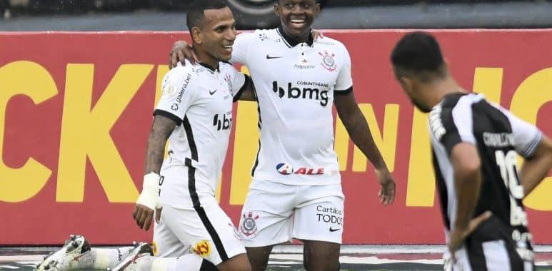 Otero - Cazares - Botafogo 0 x 2 Corinthians