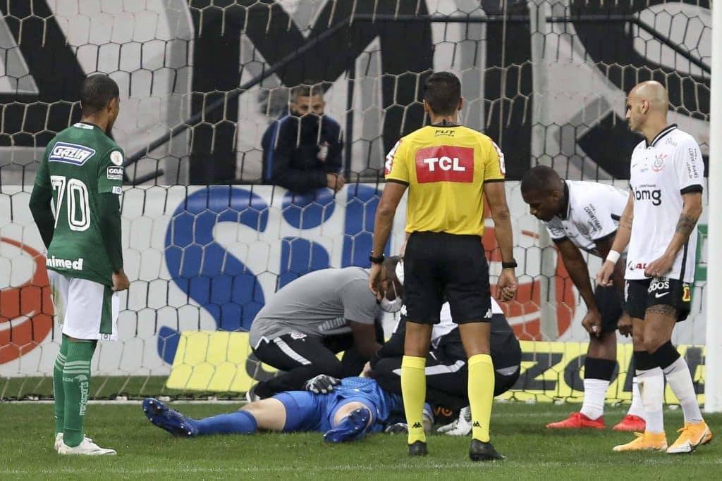 Cássio - Corinthians x Goiás