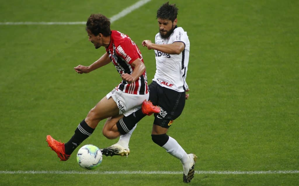 2020 Brasileirao Series A: Corinthians v Sao Paulo Play Behind Closed Doors Amidst the Coronavirus (COVID - 19) Pandemic