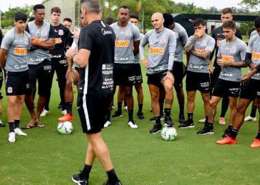Mancini - Jogadores do Corinthians