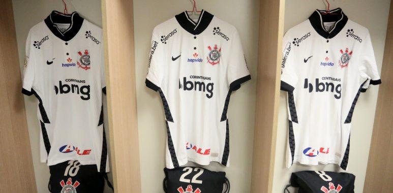 Camisas - Patrocínio - Corinthians