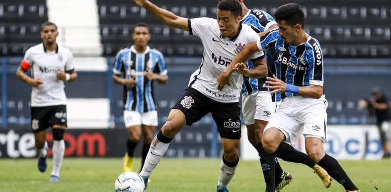 Corinthians x Grêmio - Brasileirão Sub-20