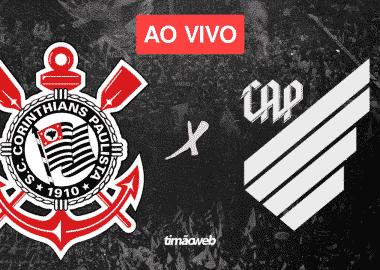 Corinthians x Athletico Paranaense Ao Vivo