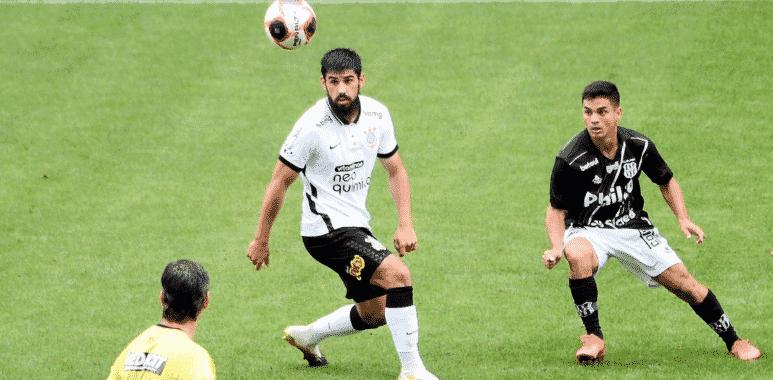 Bruno Mendez - Corinthians x Ponte Preta
