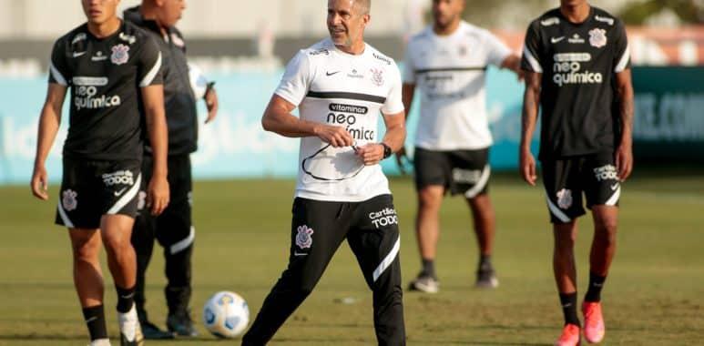 Sylvinho - Treinador do Corinthians