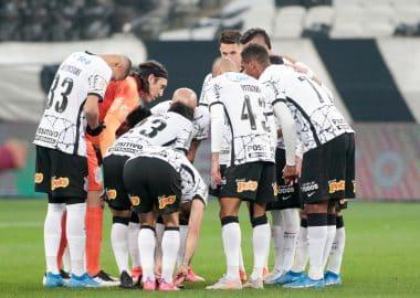 Jogadores do Corinthians - Pré-Jogo
